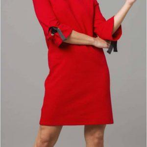 Vestido de lazos rojo mujer tienda de ropa